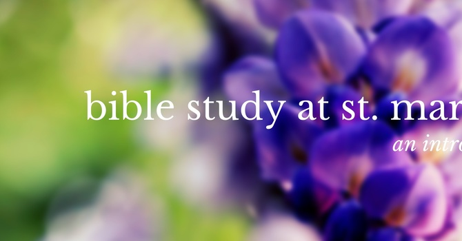 St. Martin's Bible Study