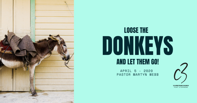 Loose the Donkeys and Let Them Go!