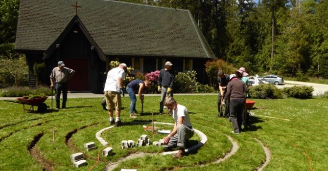 Garden of the Spirit:  Pender Island Community Labyrinth Project image