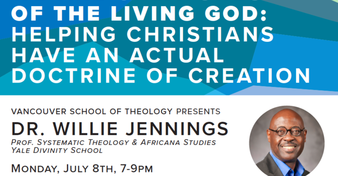 Dr. Willie Jennings - Public Lecture