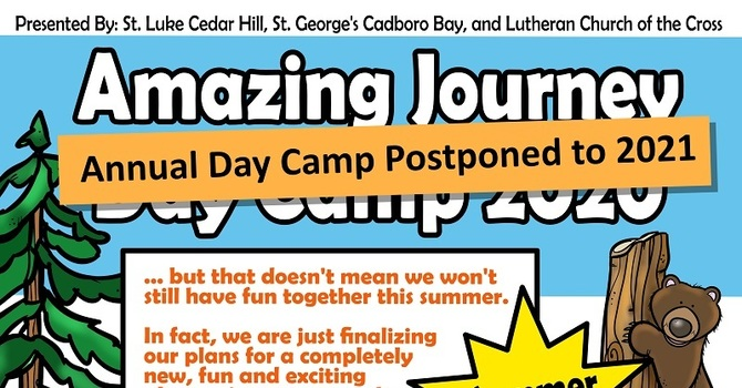 Amazing Journey Day Camp 2020 - Postponed to 2021