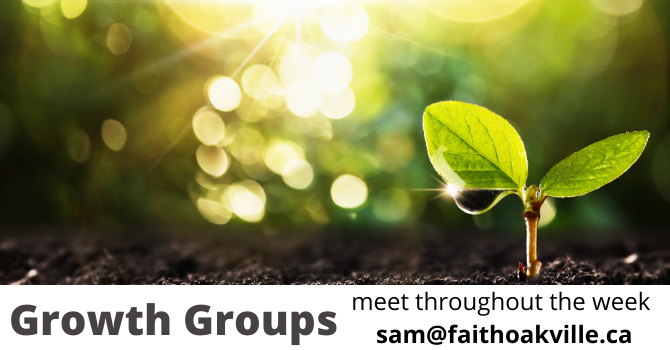 Growth Groups - postponed image