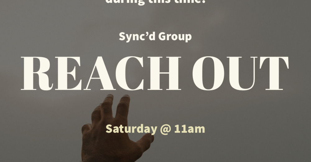 """Reach Out"" with Pastors Marcus & Marquise Reine"