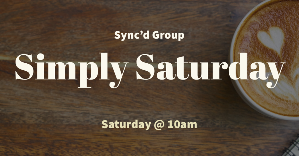 """Simply Saturday"" with Herman & Amanda Galatas"