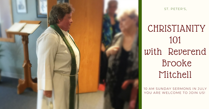 Sunday Service Series with Reverend Brooke Mitchell image