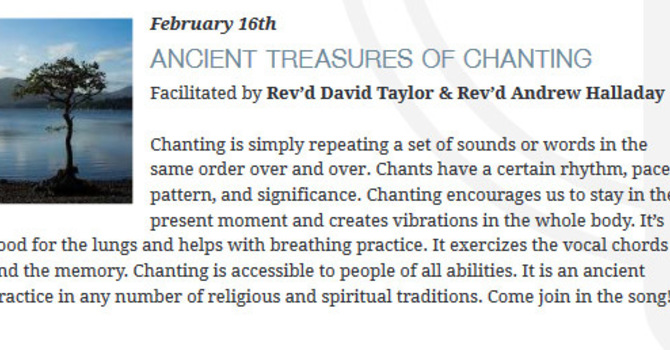 Ancient Treasures of Chanting