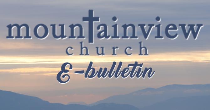 Digital Church Bulletin image