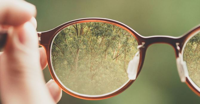 Losing Sight, but Seeing Christ image