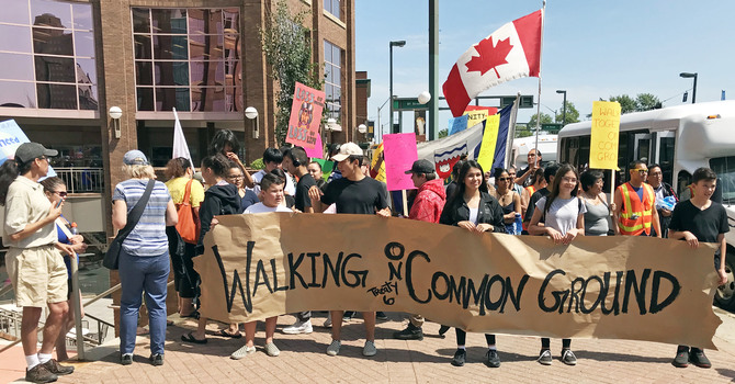 Walking on Common Ground for Reconciliation and Healing