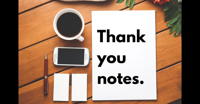 Thank You Notes image