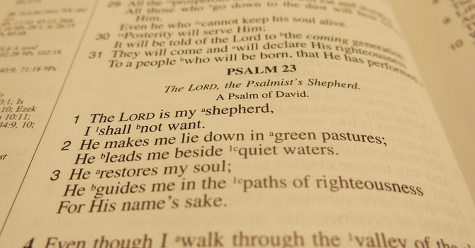 A Psalm of Trust