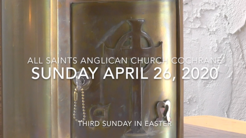 Eucharist Easter 3 April 26