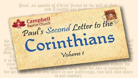 Paul's Second Letter to the  Corinthians Vol. 1
