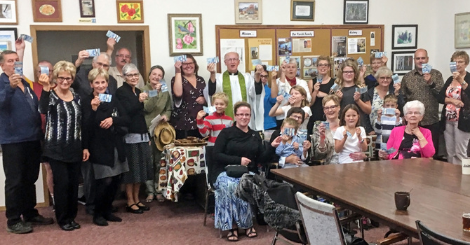 Parishes Raise $7,000 to Assist Buye Seniors