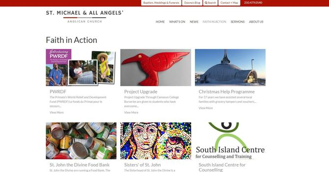 St Michael & All Angels launches new website image
