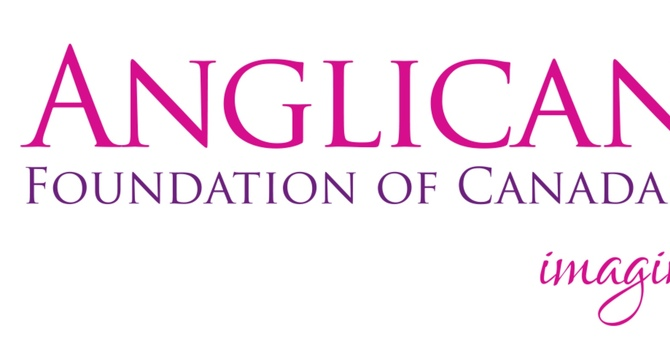 Thank you!  The Anglican Foundation of Canada image
