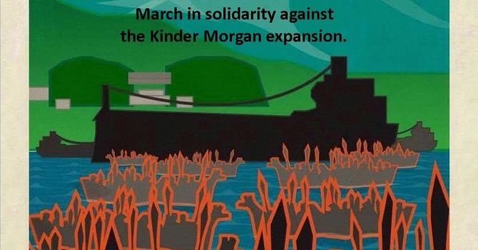 Kwantlen First Nation Kinder Morgan Protest
