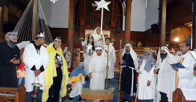 St. Mary the Virgin, South Hill, Christmas Pageant image