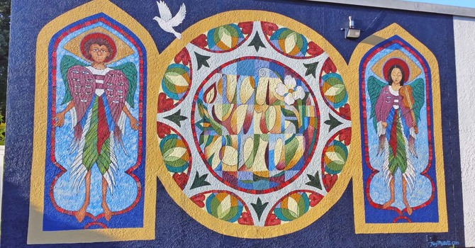 A Mural for St. Alban's, Richmond image