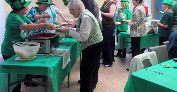 St Patrick's Dinner at St. John's image