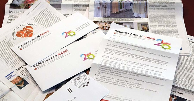 Anglican Journal Appeal image