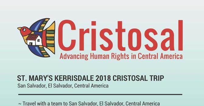 2018 Cristosal Trip to El Salvador image