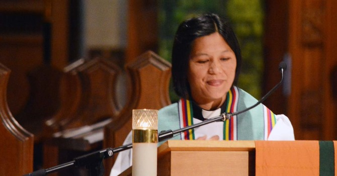 The Very Reverend Lucresia Turtem Preaches at CCC image