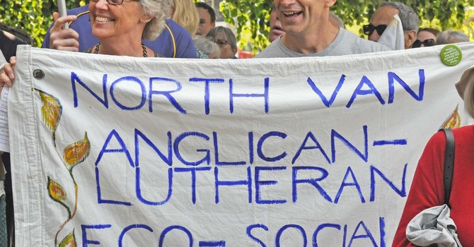 Diocese Well-Represented at Living Wage Rally image