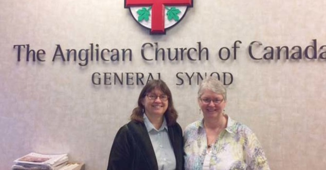 The Venerable Dr. Lynne McNaughton at the National Church image