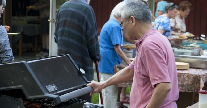 St. Anselm's Salmon Barbecue image