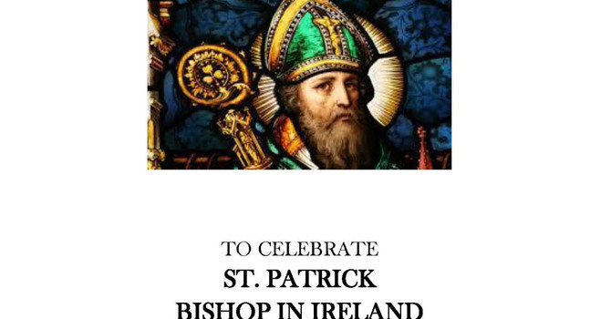 Evensong for St Patrick's Day image