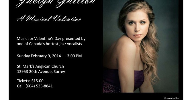 Valentine's Day Theme Concert at St. Mark's, Ocean Park image