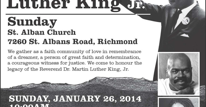 Dr. Martin Luther King Jr. Sunday at St. Alban's Richmond image
