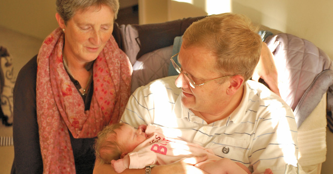 New Grandparents in the Diocese of New Westminster image