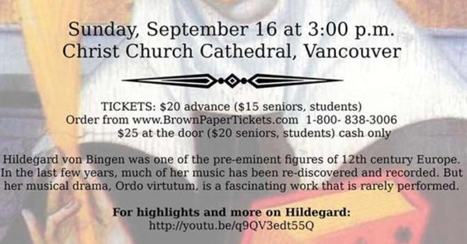 Ordo Virtutum at Christ Church Cathedral image