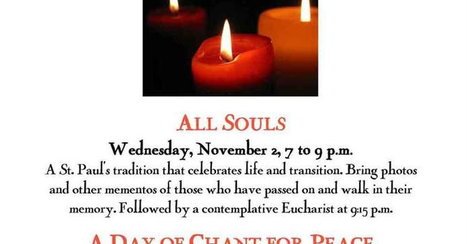 November Events, St. Paul's Labyrinth image