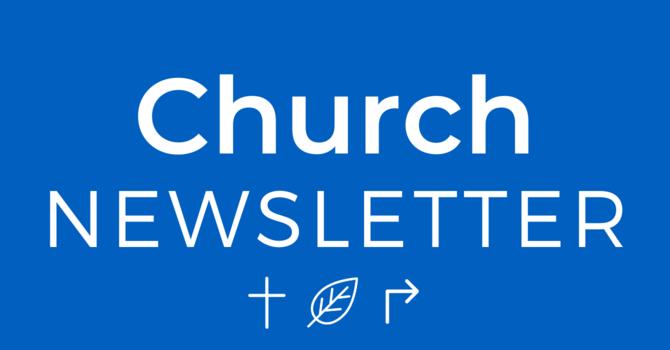 Newsletter - April 29, 2020 image