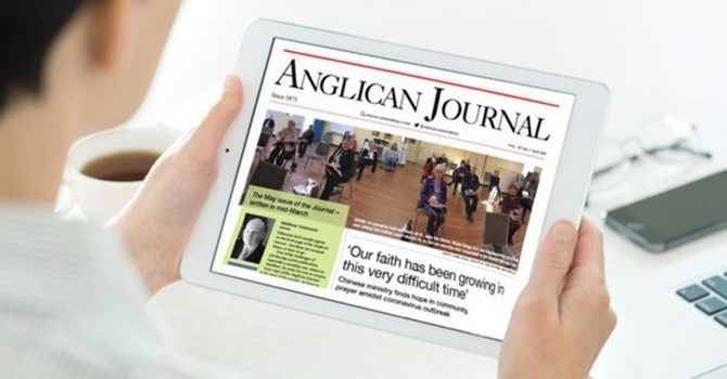 May 2020 Anglican Journal image
