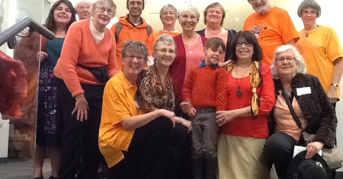 """St Paul, Nanaimo Gets into the """"We are the diocese"""" spirit image"""