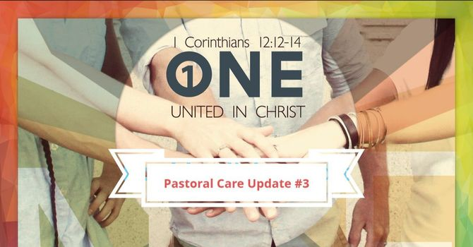 Pastoral Care Update #3 image