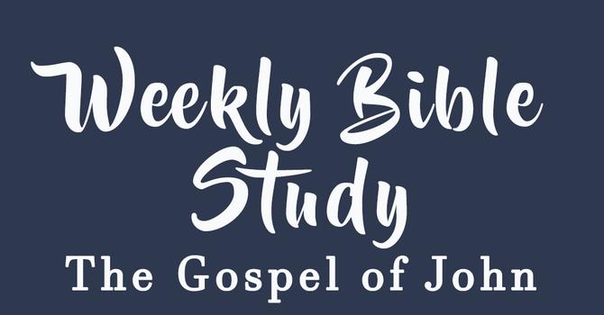 Weekly Bible Study image