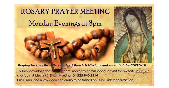 Rosary Prayer Meeting