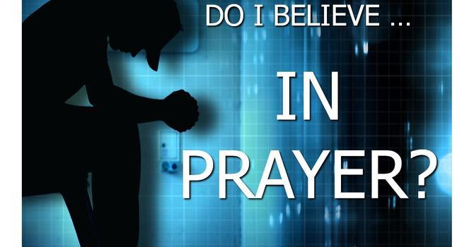 Prayer Pt. 1