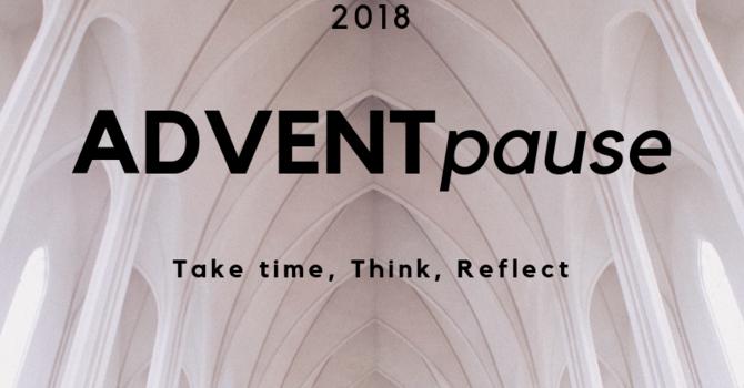 Advent Pause