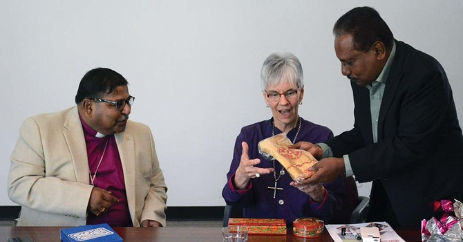 Diocese of Calcutta Reps Visit Nanton Avenue
