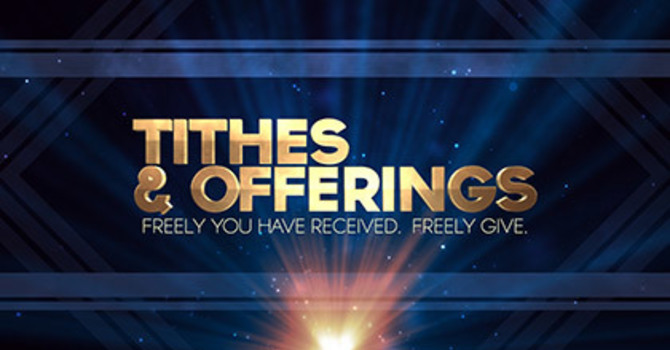 Tithes and Offerings image