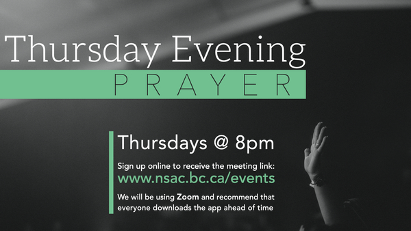 Thursday Evening Prayer