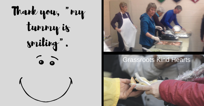 GrassRoots Kind Hearts - Everyone Enjoyed Dinner Tonight! image