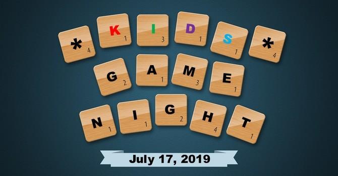 Kids Games Night