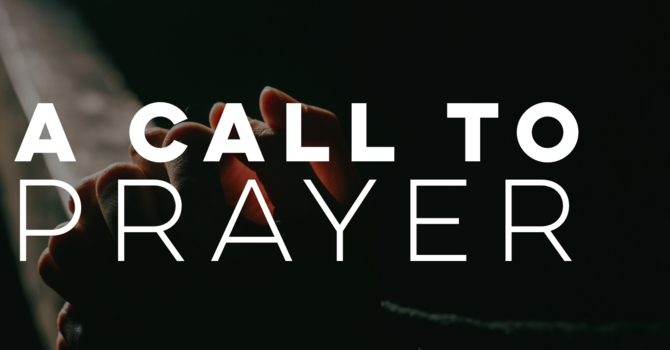A Call to Prayer image